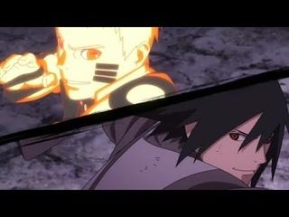Наруто Саске и Боруто против Момошики / 5 каге против Ишики
