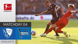 VfL Bochum - Hertha Berlin 1-3 | Highlights | Matchday 4  Bundesliga 2021/22