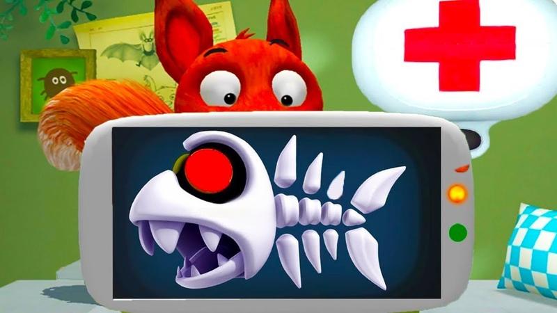 ДОКТОР КИД 1 лечу животных как Доктор Плюшева Мультик игра для детей про друзей лисенка пурумчата
