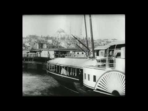 Istanbul Panorama des rives du Bosphore 1897 Dir Alexandre Promio