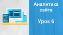 Создание сайта Урок 6. Аналитика сайта. Яндекс метрика. Вебвизор. Способы аналитики.