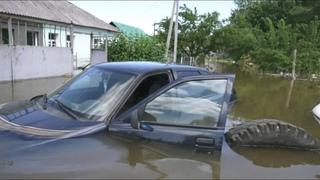Прорыв водовода в Воронеже