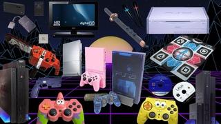 Аксессуары и различные модели PS2