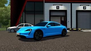 City Car Driving - Porsche Taycan Turbo S 2021 l Driving | CCD | G29