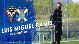 CD Tenerife | Luis Miguel Ramis, en la previa del #MirandésTenerife.