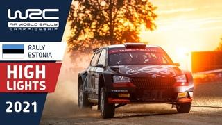 Super LUKYANUK untouchable - WRC3 Saturday Highlights - Rally Estonia 2021