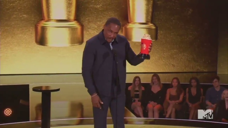 AnthonyMackie gets the last laugh with TomHolland after MTVAwards