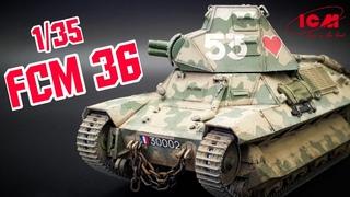 ICM 1/35 FCM 36 | Full Build