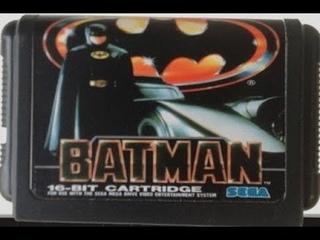 Sega Mega Drive 2 (Smd) 16-bit Batman Long Play