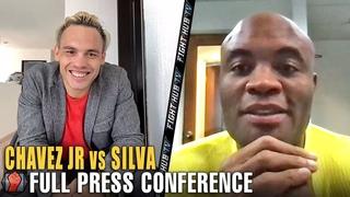 JULIO CESAR CHAVEZ JR VS. ANDERSON SILVA FULL KICK OFF PRESS CONFERENCE