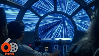 Звездные войны.Скайуокер Восход (2019) Каскад световых прыжков на соколе тысячелетия Full HD 60 FPS