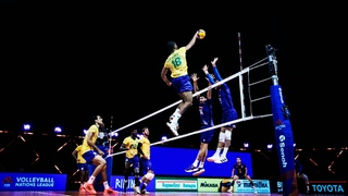 Epic Plays by Men's Team Brazil | VNL Champions of 2021 | HD