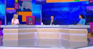 «Это же чушь»: Путин дал совет антипрививочникам