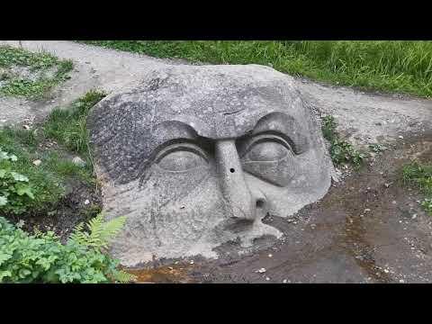 2021 07 24 Каменная Голова в парке Сергиевка в Петергофе