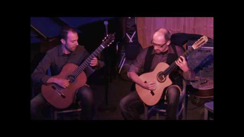 Bruskers Guitar Duo LIVE Minor Swing Reinhardt Grappelli Snug Harbor NEW ORLEANS
