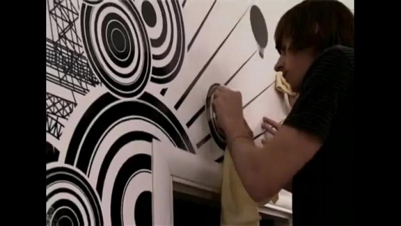 Инструкция по наклеиванию виниловой наклейки из оракала на стену
