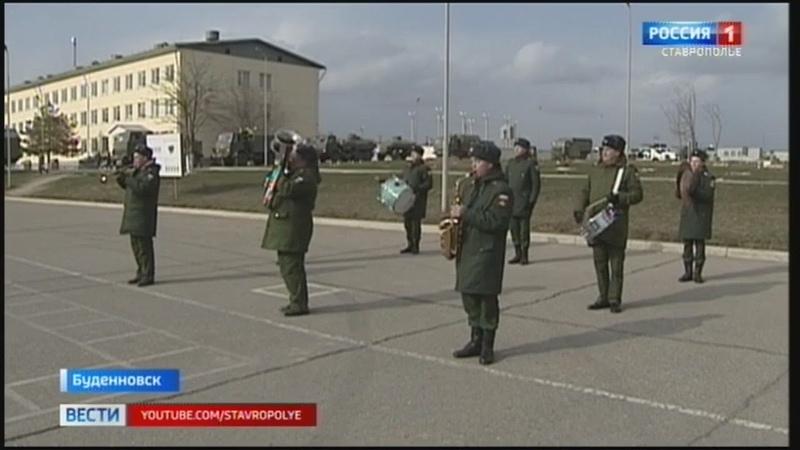 В Буденновск из Абхазии вернулся мобильный военный госпиталь