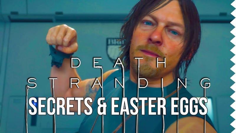 Best Death Stranding Secrets Easter Eggs 4th Wall Breaks Birthday Easter Eggs