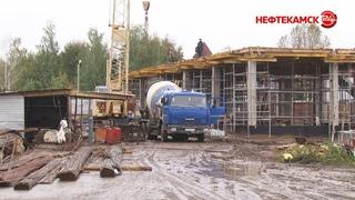 Реконструкция стадиона «Торос» продолжается.