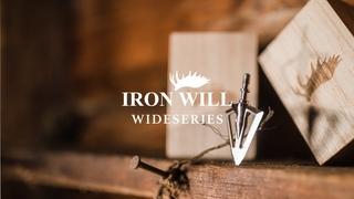 Iron Will - Wide Series Broadheads