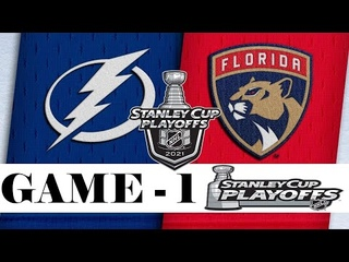 Tampa Bay Lightning vs Florida Panthers | Stanley Cup 2021 | Game 1 | , 2021 | Обзор матча