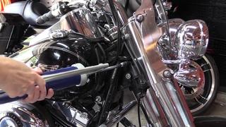 How To Lubricate Motorcycle Steering Head Bearings