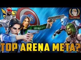Secret Avengers Beat Infinity Watch in Arena! - Marvel Strike Force - MSF