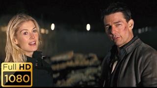 Джек Ричер спасает Хелен в финале фильма.