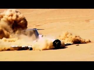 Plane Crash Boeing 727 - HD Crash Test