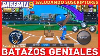 ✅BASEBALL 9 JONRON CON BASES LLENAS GRAND SLAM BATAZOS GENIALES LIGA GAMEPLAY ESPAÑOL TRUCOS BEISBOL