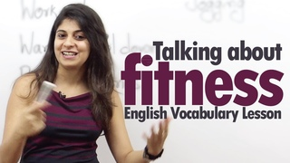 Talking about Fitness in English - Free Basic English Lesson