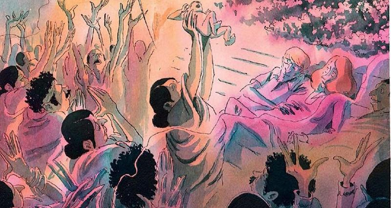 «Красная карма», Эдди Симон, Пьер-Анои Гомон. Рецензия, изображение №7