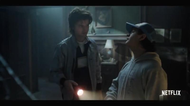 Очень странные дела Русский трейлер 2021 Сериал сезон 4 ужасы фантастика фэнтези триллер драма детектив ВидеоХаос