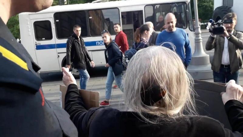 01 06 18 Незаконное задержание Елены Андреевны Осиповой