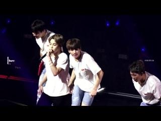 "[FANCAM] 180922 BTS - Anpanman  (Jungkook FOCUS, BTS World Tour ""LOVE YOURSELF"" в Гамильтоне, Канада. День второй) @ I DARE U JK"