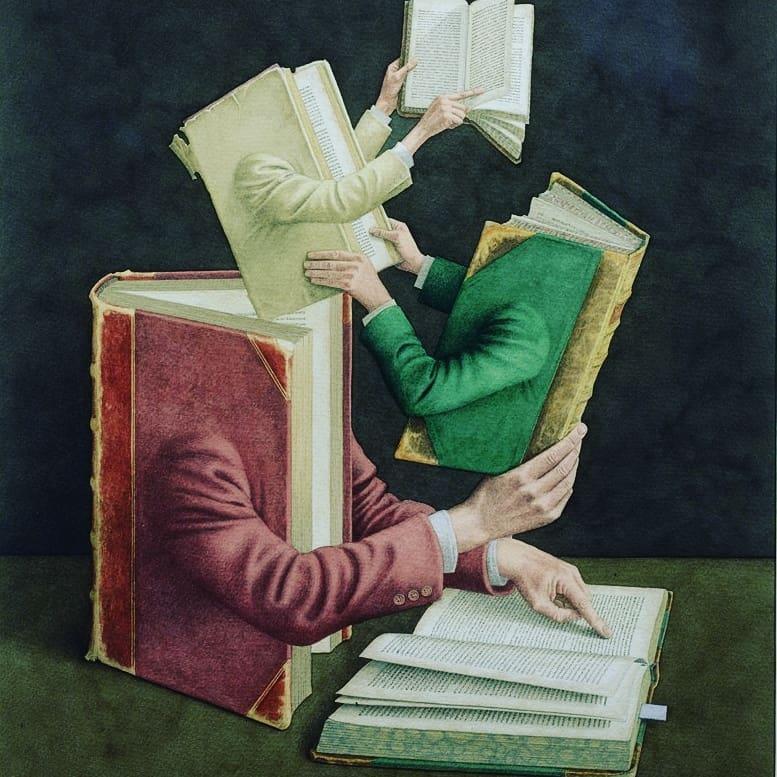 Ни одна книга не пишется только одним автором.