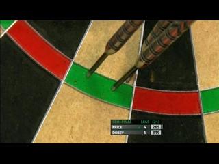 Gerwyn Price vs Chris Dobey (PDC Players Championship Finals 2019/ Semi Final)