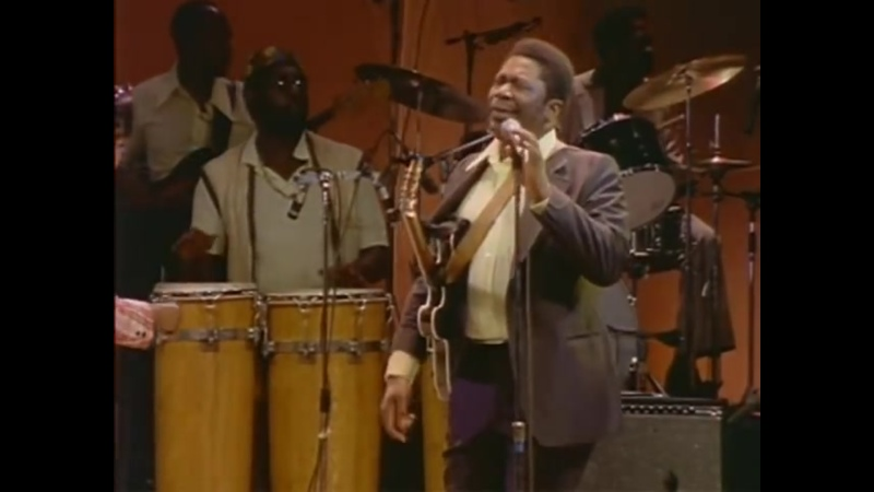 BB King I Believe To My Soul Live in Africa 1974