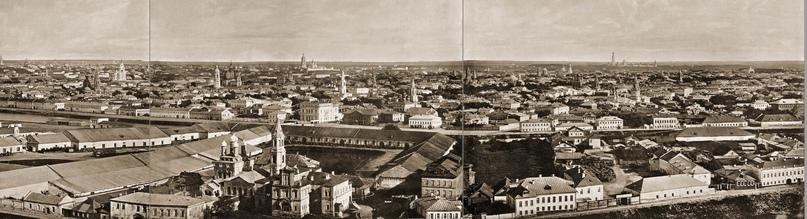 Москва без людей в 1867 году. Где все люди?, изображение №31
