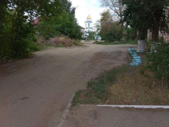 📌 После обращения Общероссийского народного фронта в Троицке восстановили разбитую дорогу