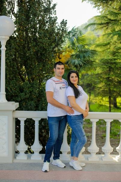 Фотосессия Love Story в Гагре. Артем и Сюзанна 06.21