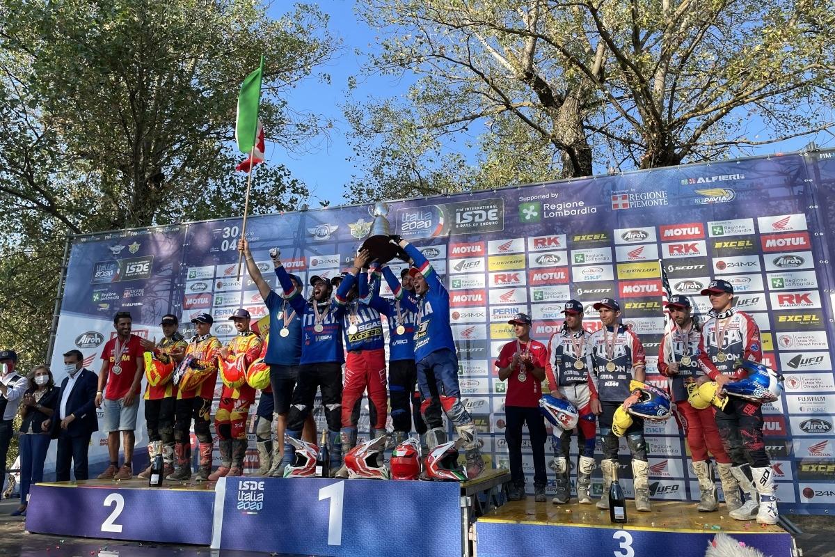 Результаты ISDE 2021. Италия - чемпионы (+видео)