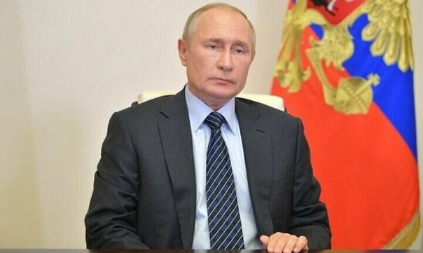 Путин поддержал введение в стране режима нерабочих...