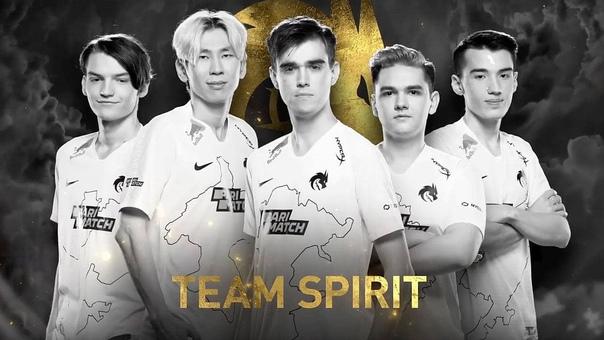 Российская команда Team Spirit стала победителем T...