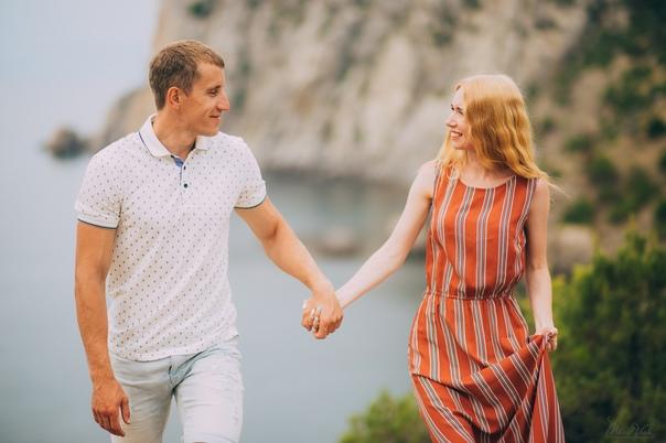 Фотосессия Love story в Новом Свете. Елена 09.19