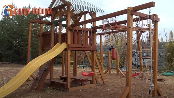 В Бузулуке появилась новая игровая площадкаПодробн...