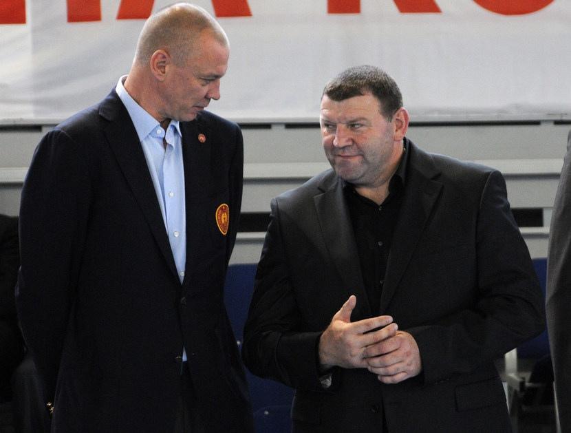 С Михаилом Якимовичем
