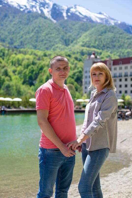 Love Story фотосессия в Красной Поляне - Фотограф MaryVish.ru