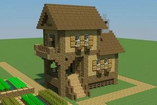 как построить в майнкрафте дом на сайте мир #3