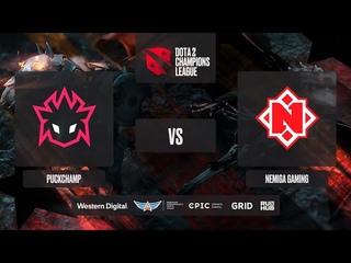 PuckChamp vs Nemiga Gaming, D2CL 2021 Season 2, bo3, game 2 [Lex & 4ce]